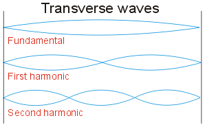 Different modes of transverse waves